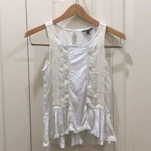 American Eagle Boho Peplum Top